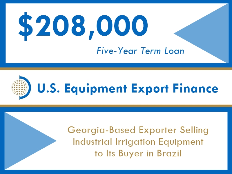 Equipment Export Financing $208k website v1