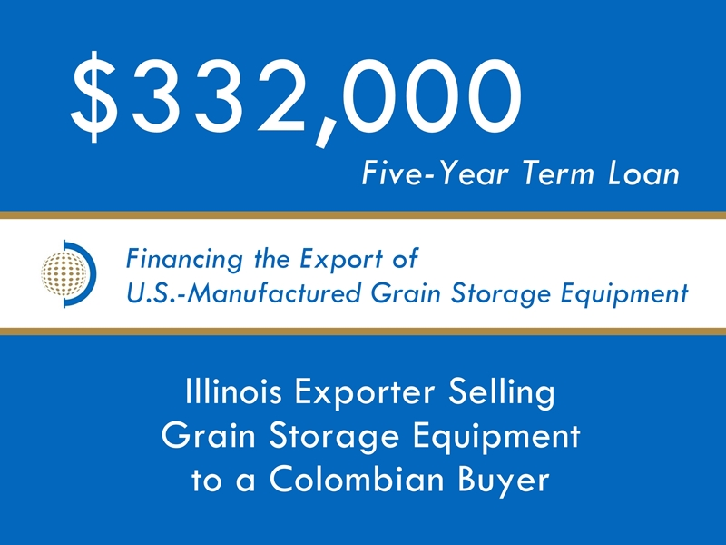 Equipment Export Financing $332k website