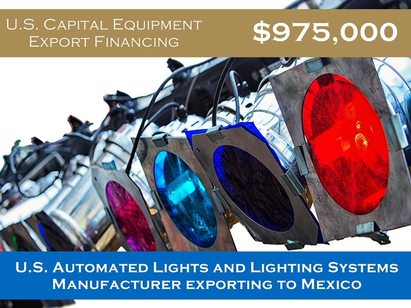 Cross-Border Equipment to Mexico $975,0000