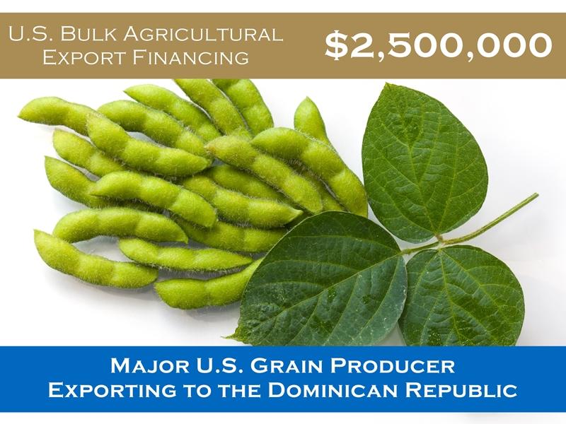 U.S Bulk Agriculture Export Financing