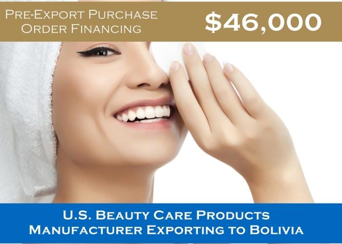 Pre-Export to Bolivia $46,000 (Alt)