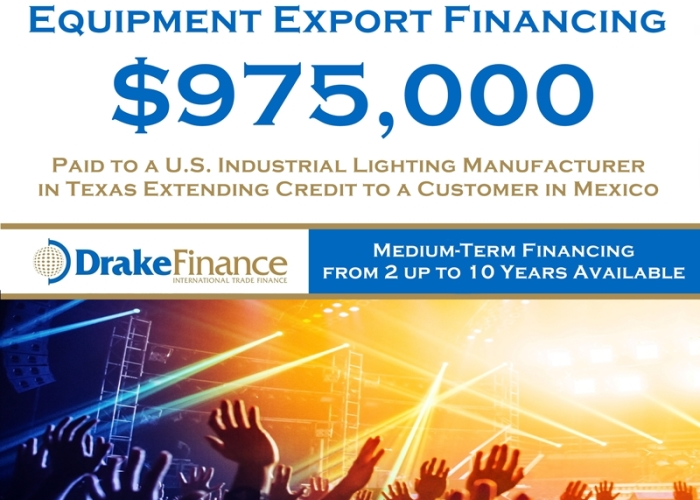 Equipment Export Financing