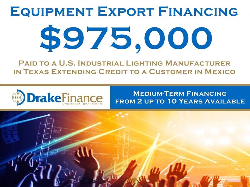 Equipment Export Financing