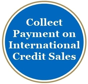 Collect Payment International Credit Sale